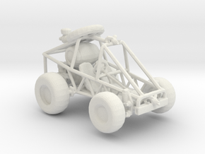 RW. Bicycle Dune buggy 1:160 scale in White Natural Versatile Plastic