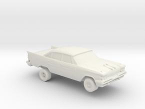 RW. 1959 De Soto Firesweep 1:160 scale in White Natural Versatile Plastic
