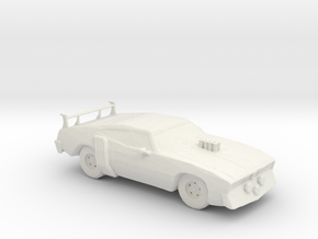 RW. 1972 Ford Falcon XA (Bat Crazy) 1:160 scale. in White Natural Versatile Plastic