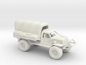 Barter Town Trader truck in White Natural Versatile Plastic