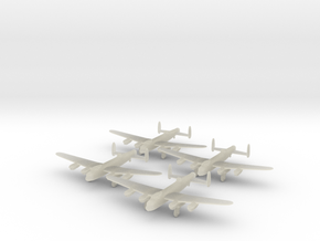 Lancaster-350-wheels-down-x4 in Transparent Acrylic