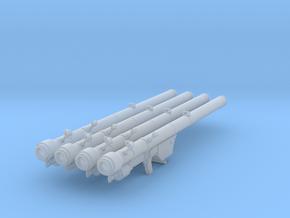 1/20th SA7 Strela 2 (4 units) in Smooth Fine Detail Plastic