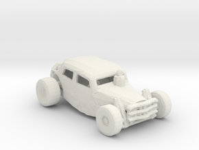 FR. Spider buggy. 1:160 scale. in White Natural Versatile Plastic