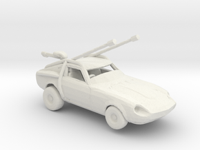 FR. Datsun Dune buggy 1:160 scale. in White Natural Versatile Plastic