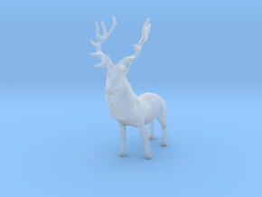 O Scale Deer in Smoothest Fine Detail Plastic