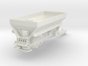 1/64th Pro Force 1850 Fertiizer Spreader in White Natural Versatile Plastic