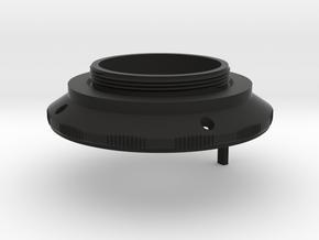 KOWA 1:2 f=50mm Prominar lens to L39 adapter in Black Natural Versatile Plastic
