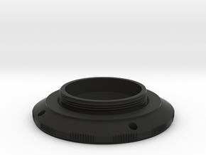 KOWA SER mount to L39 adapter in Black Natural Versatile Plastic