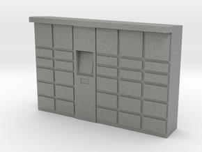Parcel Locker 1/48 in Gray PA12