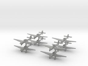 Ju87d-350-x8 in Metallic Plastic