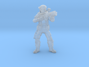 Male Colonial Marine 3 in Smooth Fine Detail Plastic