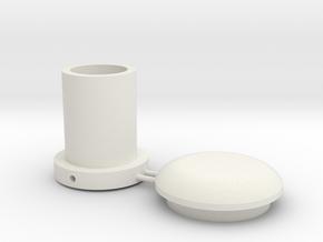 Battle Brick Saber Blade kit V1-T3 (Thickness 3mm) in White Natural Versatile Plastic