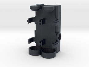 Picatinny Mounted 2x AA Battery Holder in Black PA12