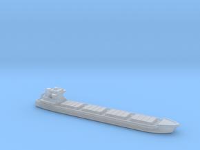 2 inch long  Bulk Cargo Ship in Smooth Fine Detail Plastic