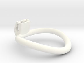 Cherry Keeper Ring G2 - 56mm -4° in White Processed Versatile Plastic
