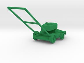 "1970s Lawn-Boy 21"" Deluxe Lawn Mower in Green Processed Versatile Plastic: 1:18"