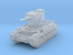Matilda II (early) 1/220 in Smooth Fine Detail Plastic
