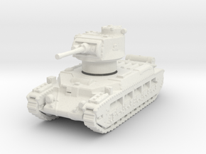 Matilda II (mid) 1/144 in White Natural Versatile Plastic