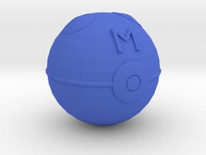 Master Ball in Blue Processed Versatile Plastic