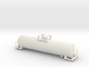 17360 Gallon Tank TT Scale Body in White Natural Versatile Plastic