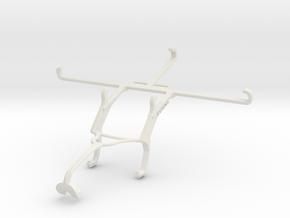 Controller mount for Xbox 360 & T-Mobile REVVL V+  in White Natural Versatile Plastic