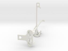 T-Mobile REVVL V+ 5G tripod & stabilizer mount in White Natural Versatile Plastic