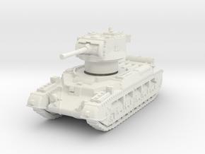 Matilda II Aus 1/72 in White Natural Versatile Plastic