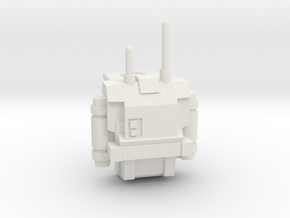Lego Star wars Clone Tech / Echo Backpack  in White Natural Versatile Plastic