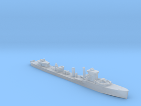 HMS Vega V-class destroyer 1:800 WW2 in Smooth Fine Detail Plastic