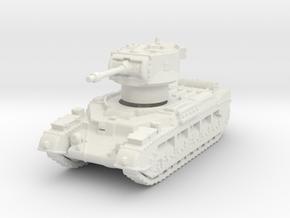 Matilda II Aus Frog 1/144 in White Natural Versatile Plastic