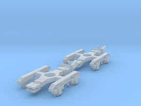 Spare Bogies for 40t Armour Plate Trucks in Smoothest Fine Detail Plastic
