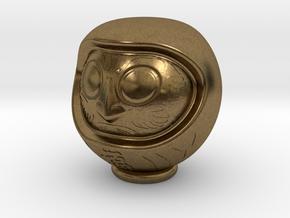 Daruma Doll 001 in Natural Bronze