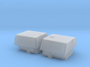 HO/1:87 Pickup cap set KMAR + EOD NL (kit) in Smooth Fine Detail Plastic