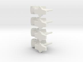 AECV Gear .490 high-2 in White Natural Versatile Plastic