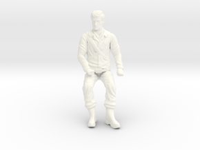 Fantastic Voyage - Dr. Duval - Seated in White Processed Versatile Plastic