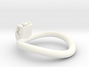 Cherry Keeper Ring G2 - 54mm -6° in White Processed Versatile Plastic