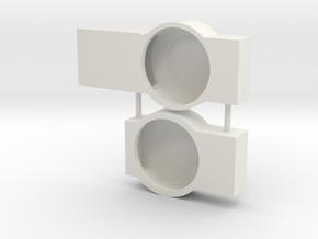 Athearn Genesis P42 Tang Band Retrofit Encosures in White Natural Versatile Plastic