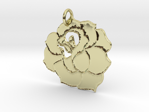 L'important, c'est la rose in 18k Gold Plated Brass