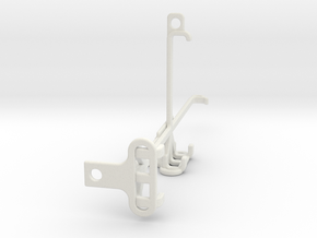 Xiaomi Poco F3 GT tripod & stabilizer mount in White Natural Versatile Plastic