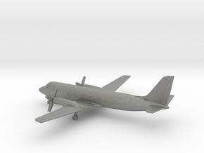 Grumman Gulfstream I-C (G-159C) in Gray PA12: 6mm