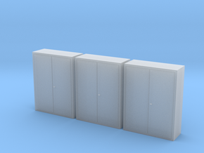 1:64 Tool Cabinet 3pc in Smooth Fine Detail Plastic
