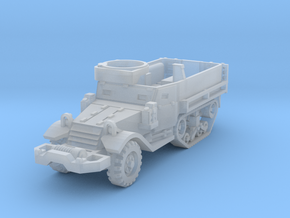 M9A1 Half-Track 1/220 in Smooth Fine Detail Plastic