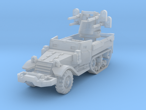M17 AA Half-Track 1/200 in Smooth Fine Detail Plastic