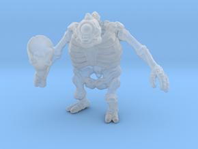 Skeletal Cyclops 6mm Infantry miniature model rpg in Smooth Fine Detail Plastic
