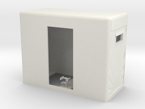 1/32 Semi Truck Mercury Sleeper in White Natural Versatile Plastic