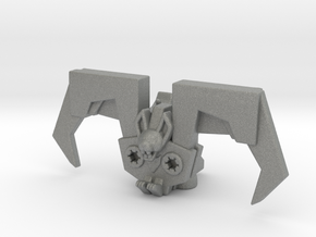 Bat Robot miniature model scifi games dnd rpg mech in Gray PA12