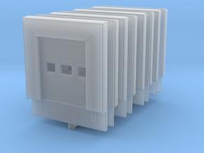 Loading Dock Door (x8) 1/285 in Smooth Fine Detail Plastic