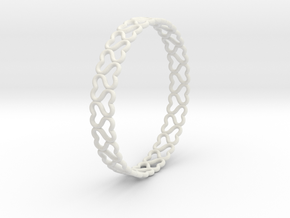 lovelink bracelet ($5) in White Natural Versatile Plastic