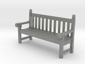 SE scale Hyde Park Bench in Gray PA12