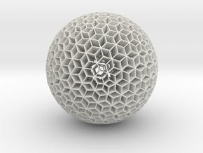 Geodus in White Natural Versatile Plastic